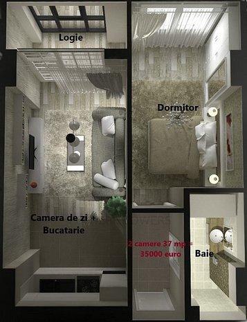 Ap 1,2 si 3 camere Cartierul Visoianu - imaginea 1