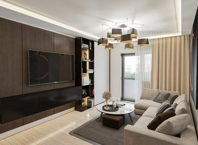 Apartament 1 camera Frumoasa Nicolina Poitiers Towers - imaginea 1