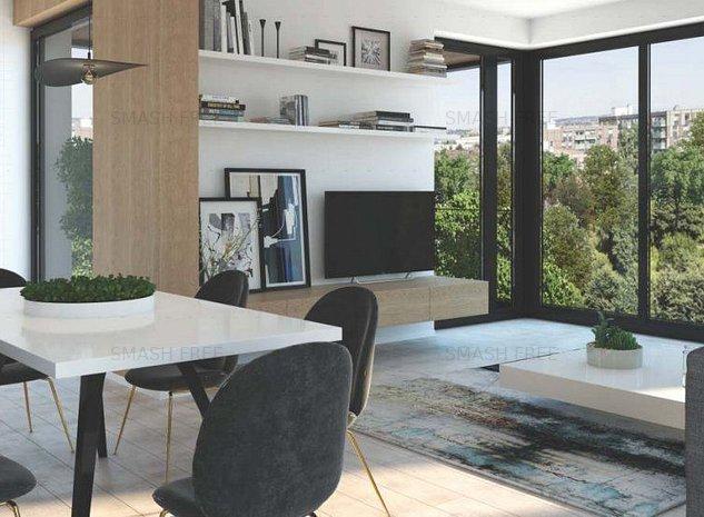 Studio in complex Win Herastrau cartierul Francez - imaginea 1
