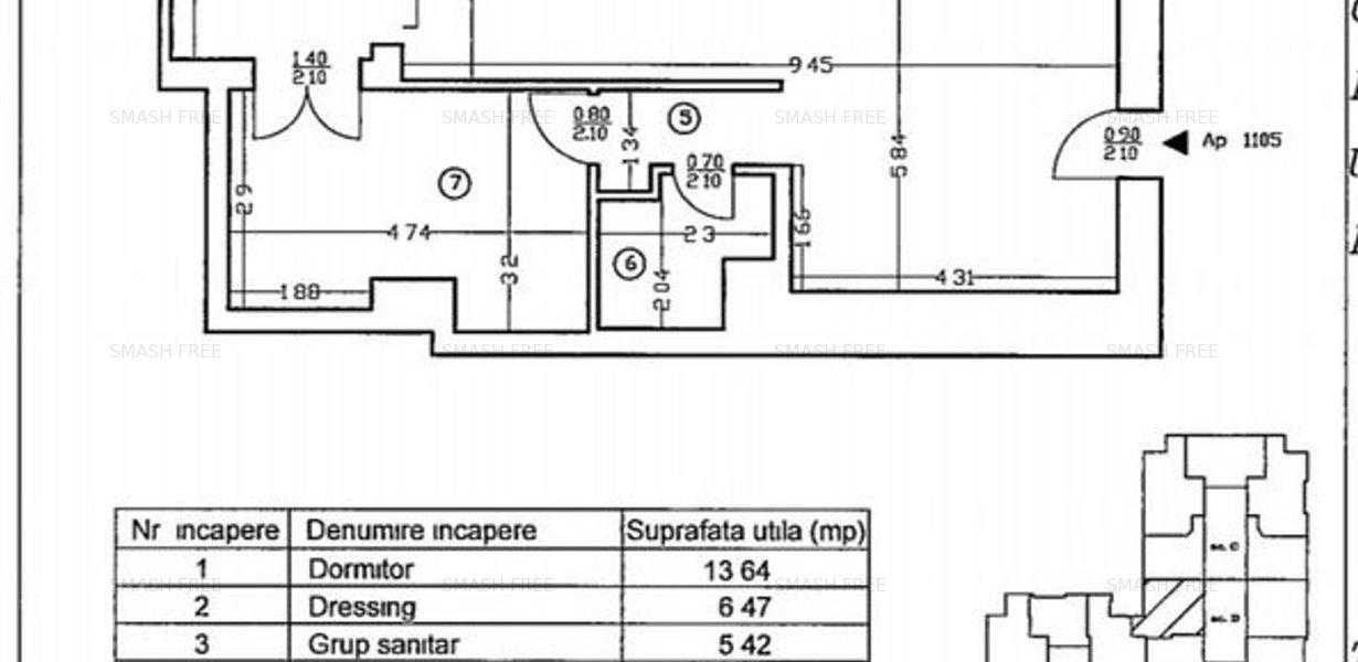 Apartament exclusivist Smart Home 95.29 mp in complex Upground - imaginea 30