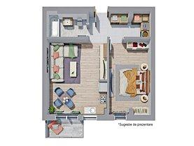 Apartament de vânzare 2 camere, în Târgu Mureş, zona Libertăţii