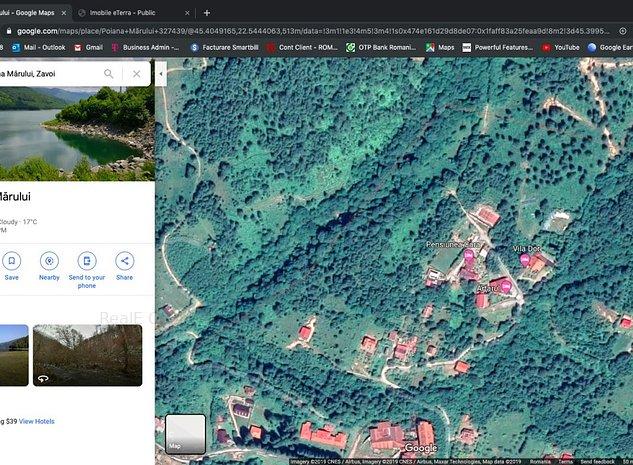 Teren intravilan 1.058 mp Poiana Marului, com Zavoi, jud. Caras Severin. - imaginea 1
