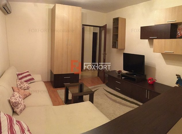 Apartament cu 2 camere, decomandat, de inchiriat, zona Gheorghe Lazar. - imaginea 1