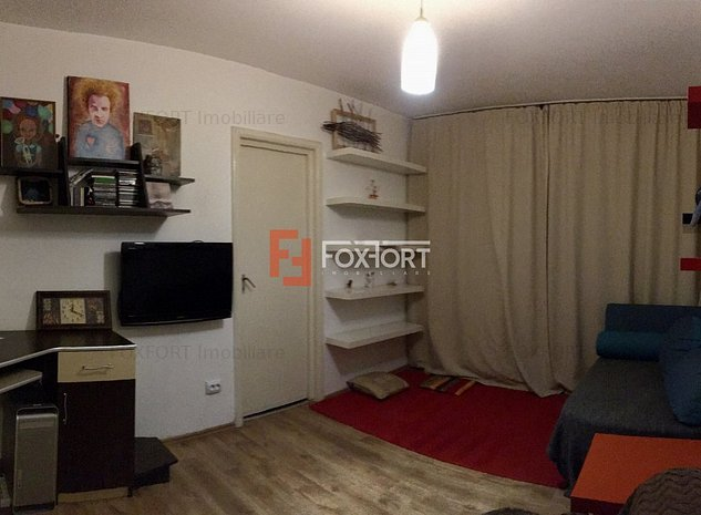 Apartament cu 2 camera, semidecomandat, de vanzare, zona Dacia. - imaginea 1