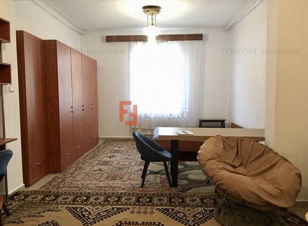 Apartament cu 1 camera, semidecomandat, de inchiriat, la casa, zona Girocului. - imaginea 1