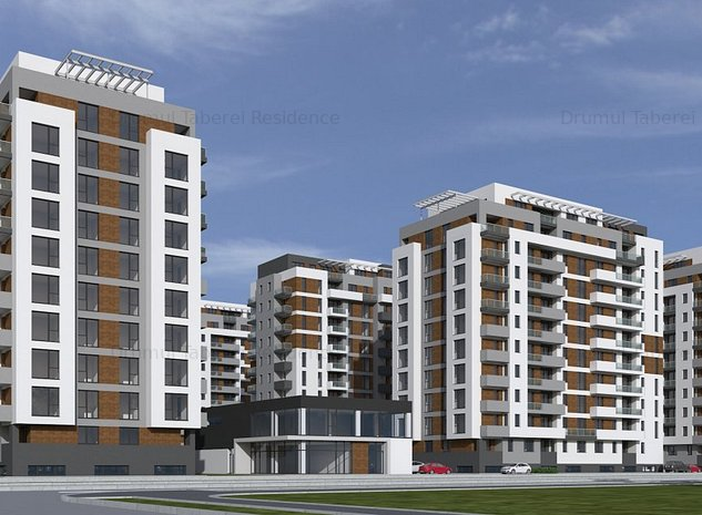 Apartament 3 camere- pret promotional -ansamblu nou-Drumul Taberei Residence - imaginea 1