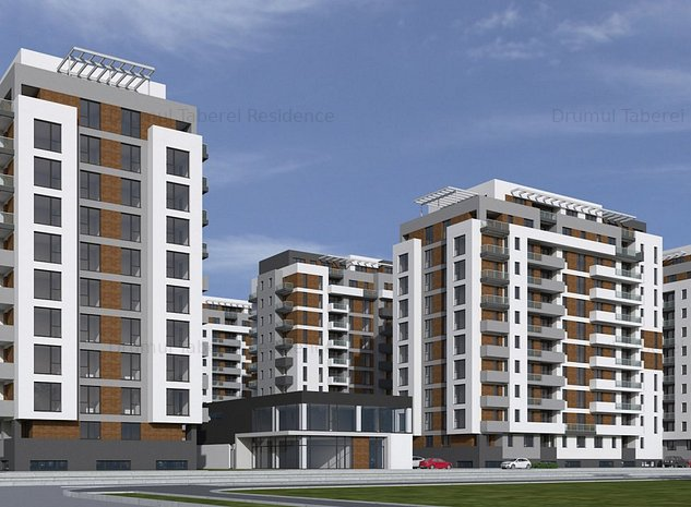 Apartament 2 camere- pret promotional -ansamblu nou-Drumul Taberei Residence - imaginea 1