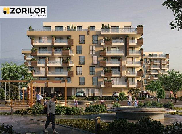 Apartamentul tău la ZORILOR, 69,4 mp și 2 camere - imaginea 1
