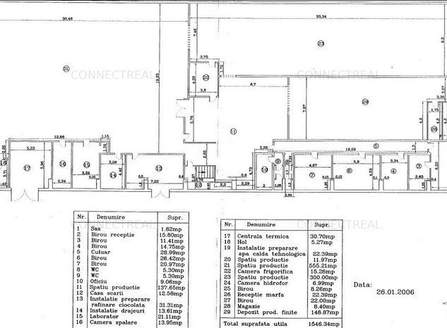 Faur, Poarta 4, hala P+1E, 3000mp (1500mp/nivel) - imaginea 1