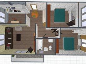Apartament de vânzare 3 camere, în Apahida