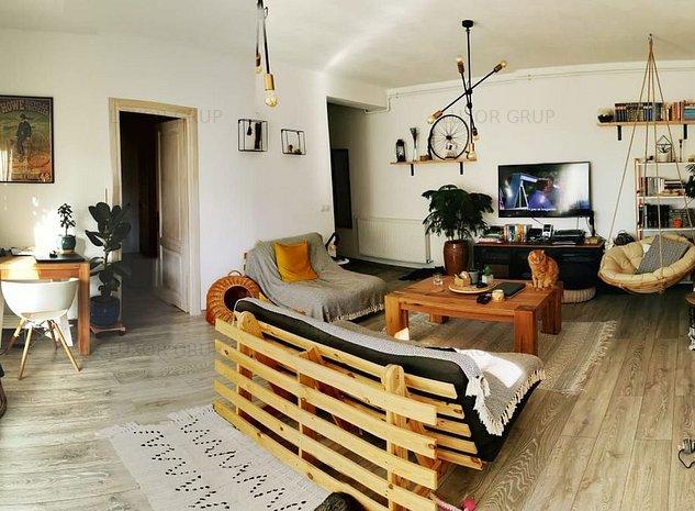 Apartament 2 camere | Zona Calea Cisnadiei - imaginea 1