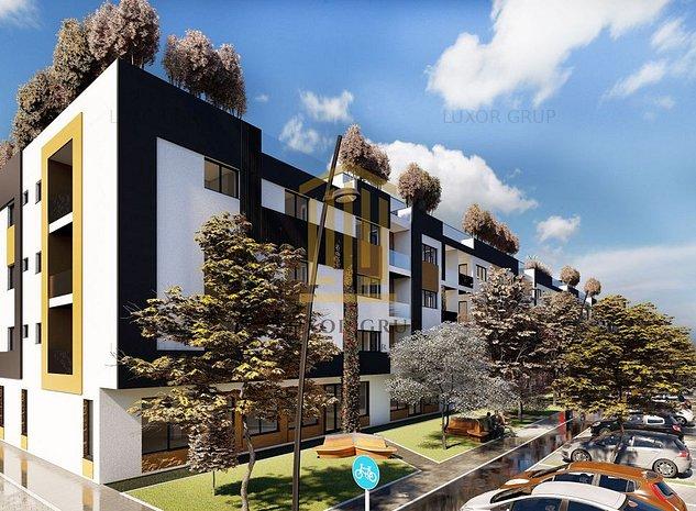 Proiect Modern | Apartament 2 camere | Etaj 1 | Zona Centrala - imaginea 1