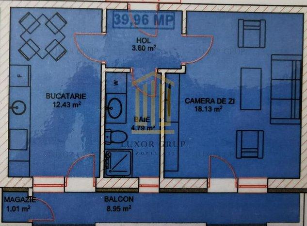 Apartament 2 camere | Zona linistita | Loc de parcare - imaginea 1