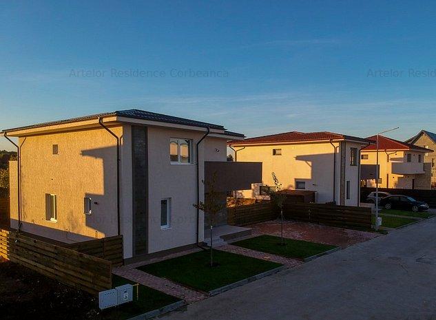 Casa Vila 5 camere | gata de mutare Cprbeanca- Pardadisul Verde!! - imaginea 1