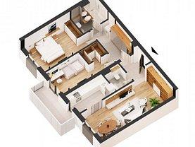 Apartament de vânzare 3 camere în Bucuresti, Ghencea