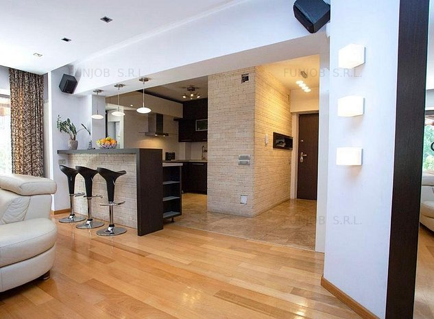 Apartament 3 camere, LUX, 7 min Parcul Natural Vacaresti. - imaginea 1