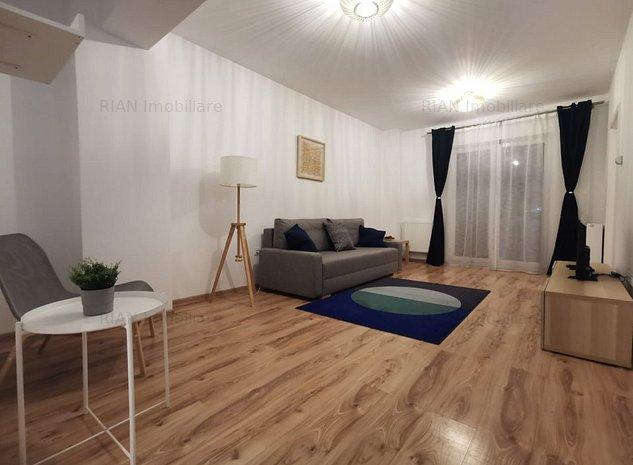Studio modern, mobilat/utilat Maurer Residence - imaginea 1