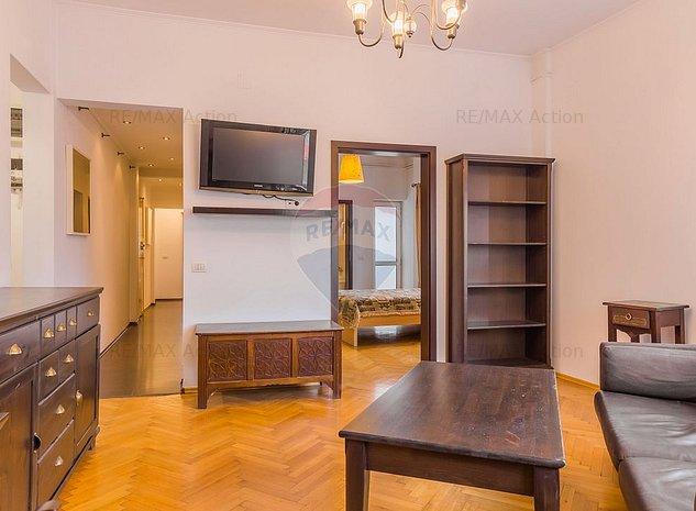 Ultracentral Dorobanti - Apartament 3 camere, cu 2 intrari si 2 bai - imaginea 1