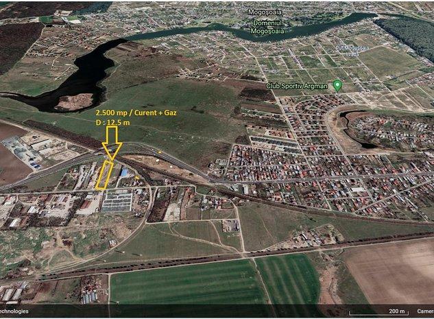 Teren 2.500 mp Chitila pretabil Hala  - imaginea 1