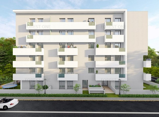 Forest One Apartament 2 camere Padurea Baneasa - imaginea 1
