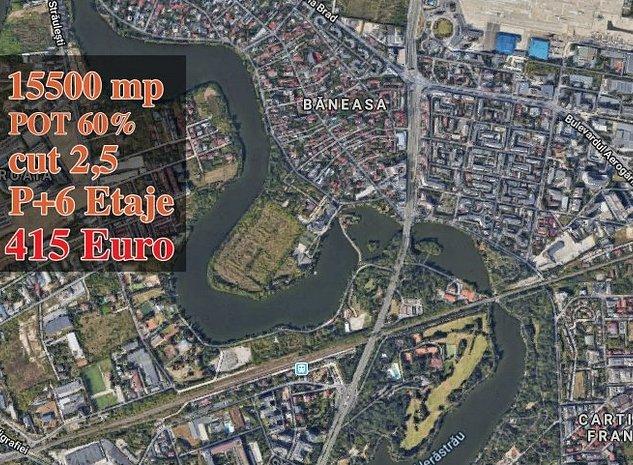 Baneasa Petrom City 15500 mp urbanism P+5+6, Afacere! - imaginea 1