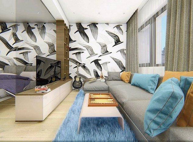 Valcom Residence, Apartament 2 Camere, Suprafata Generoasa, Comision 0% - imaginea 1