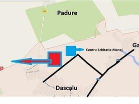 Teren constructii de vânzare, în Dascălu