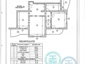 Apartament de vânzare 2 camere, în Comanesti, zona Central
