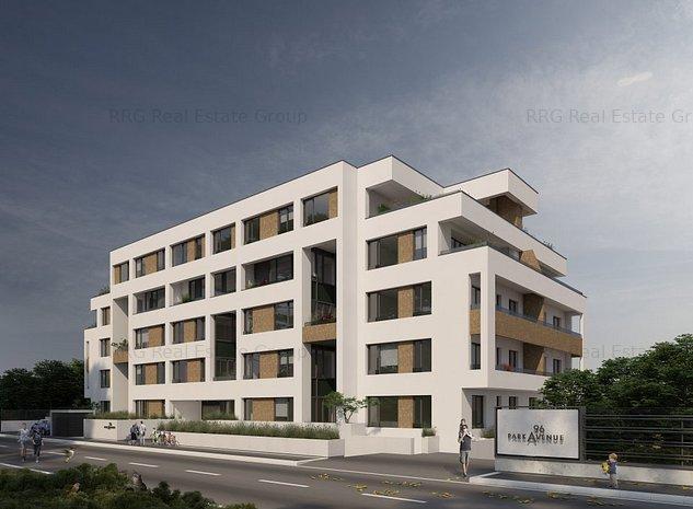 Apartament 2 camere cu gradina Park Avenue Nordului - imaginea 1