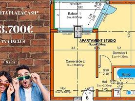 Apartament de vânzare 2 camere, în Constanţa, zona Universitate