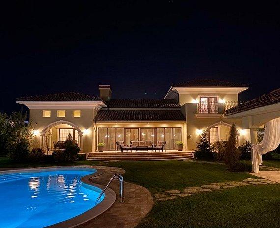 Casa stil mediteranean complet mobilata si utilata - Teren 1200 mp  - imaginea 1