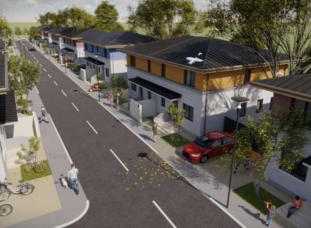 Casa P+1, 115 mp utili 4 camere si curte individuala, sector 4 - imaginea 1