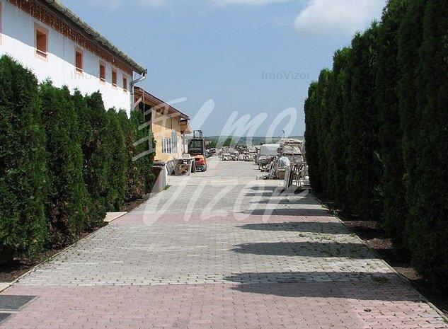 300 mp birouri in vila 200 hala si teren 3300 - imaginea 1