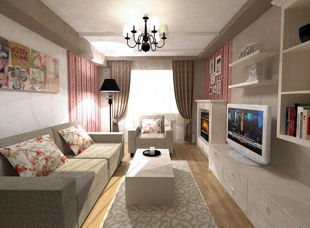 Apartament 3 camere Splaiul Unirii, la 5 minute de metrou Mihai Bravu - imaginea 1