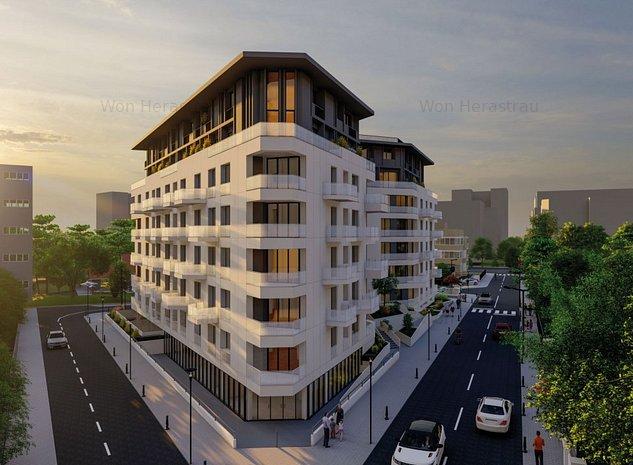 Apartament 3 camere- la 3min de mers pe jos de Parcul Herastrau-Oferta Pre-Sales - imaginea 1