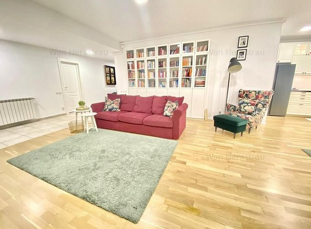 Vanzare Apartament 3 camere cu gradina | Herastrau | Parcare subterana | Renovat - imaginea 1