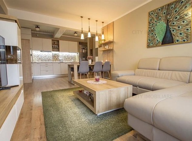 Apartament 2 camere, LUX, S-54 mp.+ balcon 4mp., Borhanci - imaginea 1