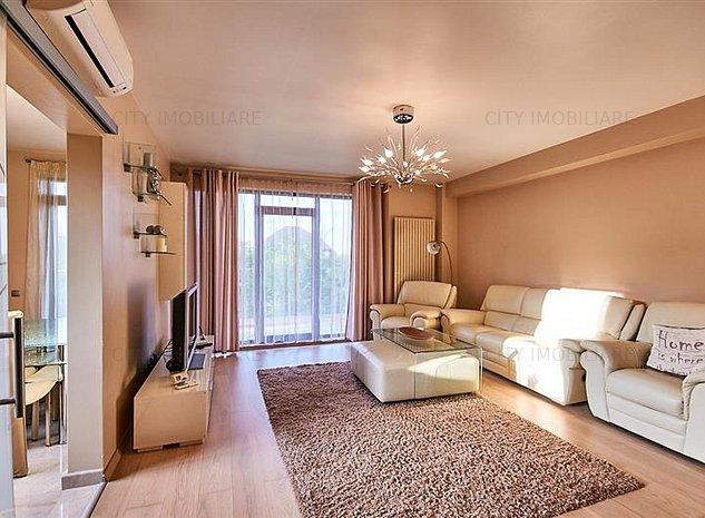 Apartament 3 camere LUX, S-90 mp + 23 mp. terase, Europa - imaginea 1