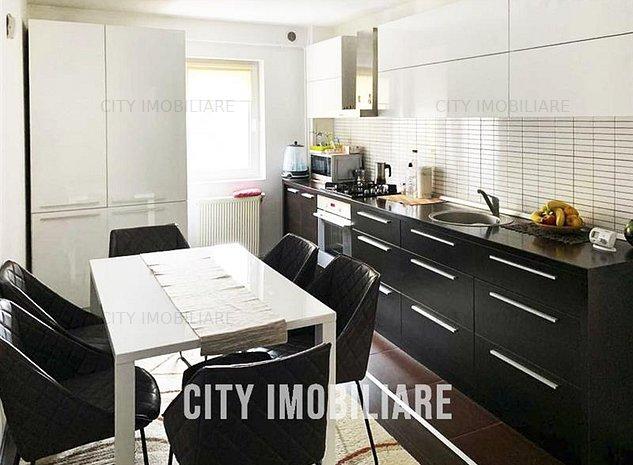 Apartament 3 camere, finisat modern S-65mp, zona Manastur. - imaginea 1