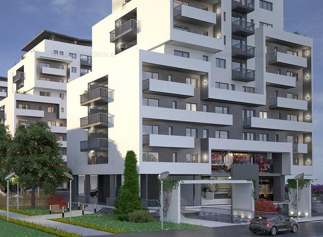 Apartament cu 2 camere cu terasa de 50 mp, Noua Residence, strada Nucului - imaginea 1