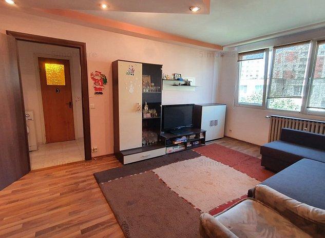 Apartamen mobilat, 3 camere zona Rahova - de inchiriat - imaginea 1