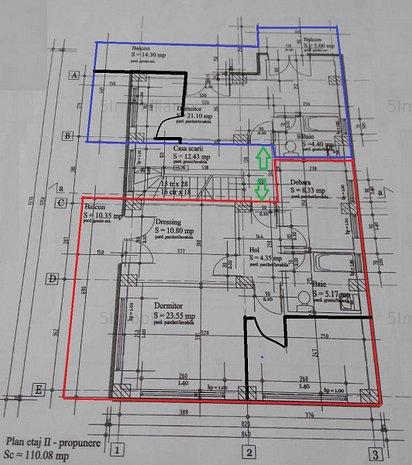 Timpuri Noi - bloc D+P+3 constructie 2019 - de vanzare - imaginea 1