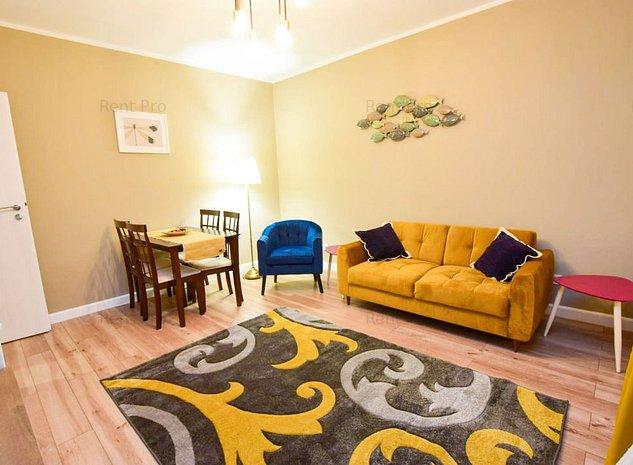 Apartament 2 Camere 55mp 7 Min Metrou Smart Residence zona Grozavesti - imaginea 1