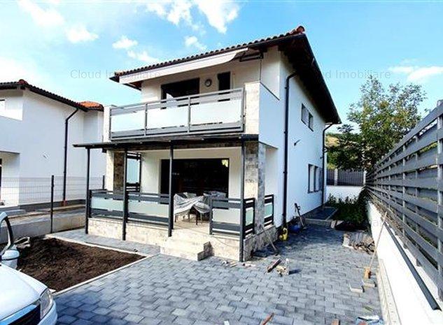 casa 4 camere, 120 mp, 2 terase, curte 580 mp, garaj, zona str. Valea Seaca - imaginea 1