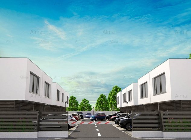 ALMA VILLAGE OTOPENI - complex cu arhitectura ultra-moderna - imaginea 1