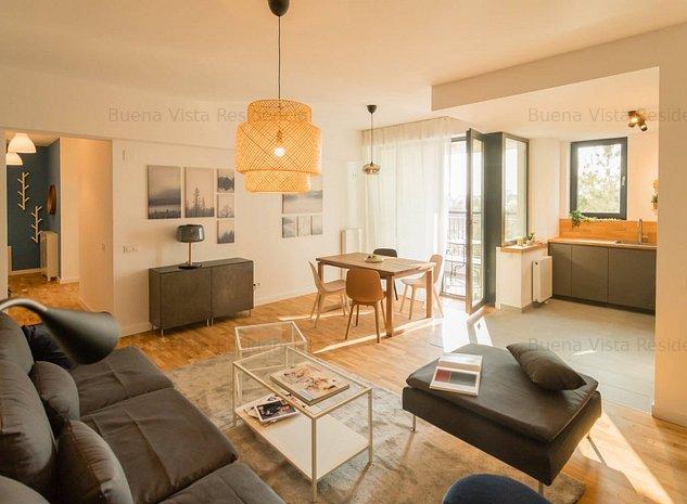 Apartament 3 camere cu terasa - Baneasa - Iancu Nicolae - imaginea 1
