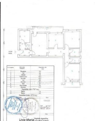 Apartament 4 camere City Park - Banca Religiilor colt cu Sucevei - imaginea 1