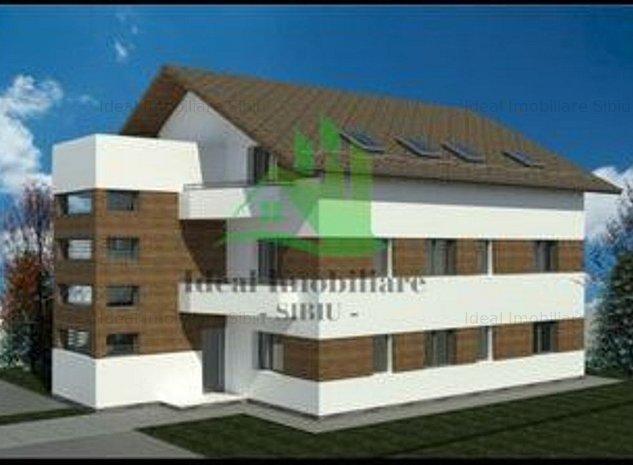 Apartament cu 3 camere, in Calea Cisnadiei- Comision 0% - imaginea 1