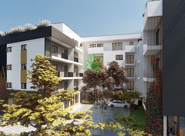 Apartament cu 3 camere si balcon, 75 mp utili, zona Turnisor - imaginea 1