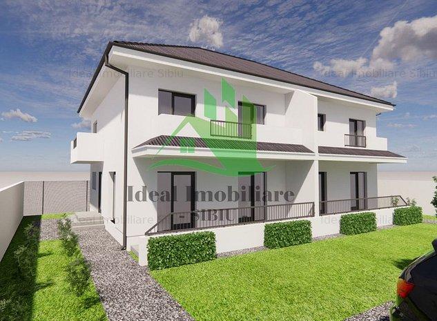 Duplex Modern direct de la Dezvoltator in Calea Cisnadiei - Comision 0% - imaginea 1